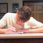 student-writing-letter